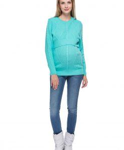 pulover za dojenje blue