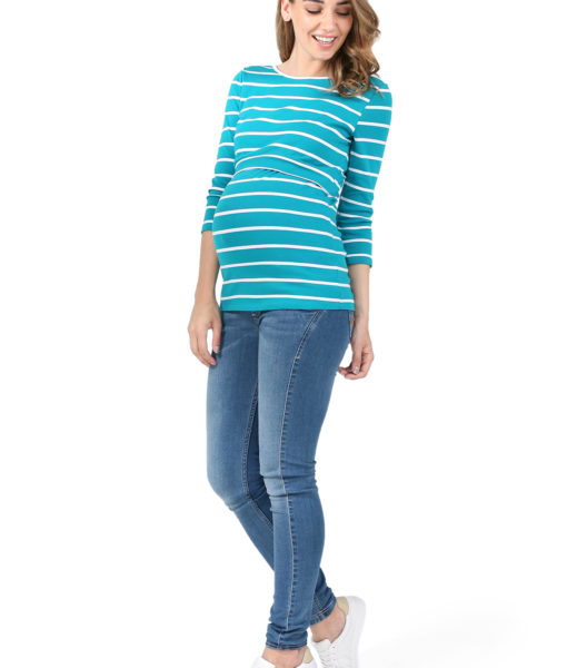 majica blue stripes 1