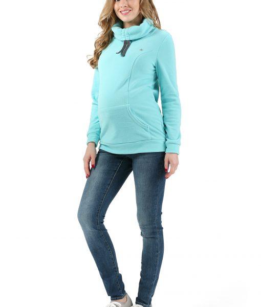 pulover flis blue 1