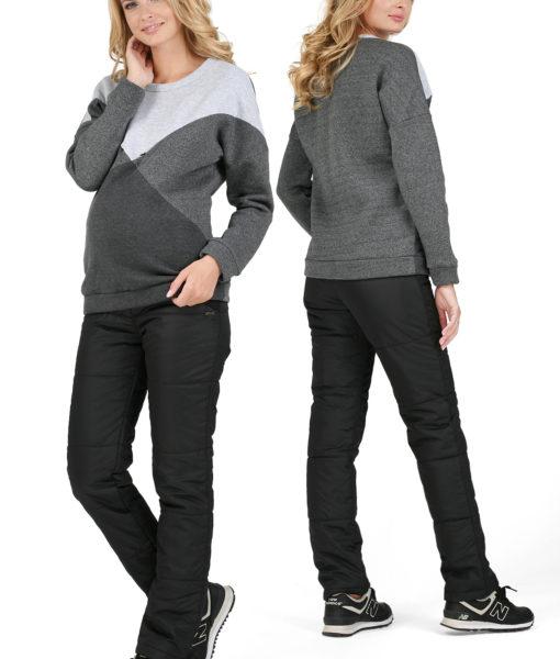 zimske hlače črna 1