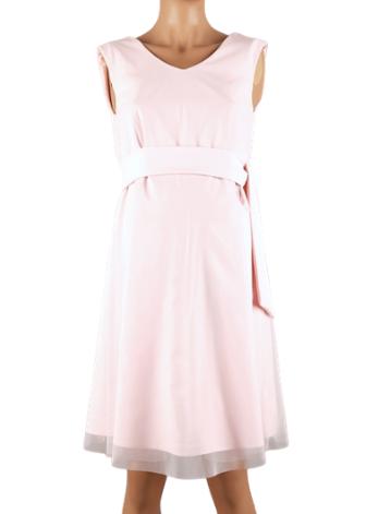 nosečniška obleka pink